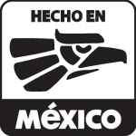 "This is the official ""Hecho en México"" trademark logo"