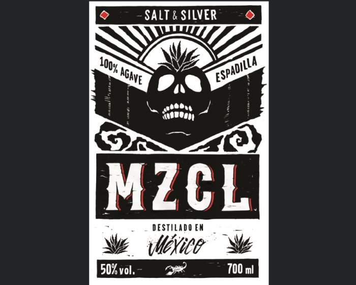 MZCL - Dr. Sours Mezcal - Back Label