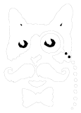 This is the Dr Sours Bitters and Mezcal - Cat Only Logo