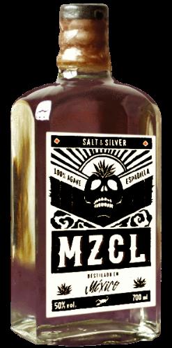 A 700 ml Dr. Sours Mezcal (MZCL) Bottle - Destillado en Mexico