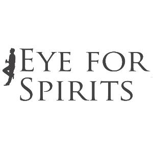 This is the logo of a Dr. Sours Mexican Cocktail Bitters and Mezcal Friend: Eye For Spirits