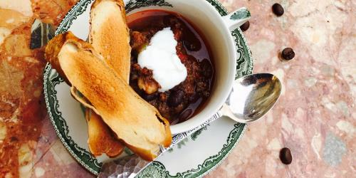 A picture of Dr. Sours Food: Bavarian Chili