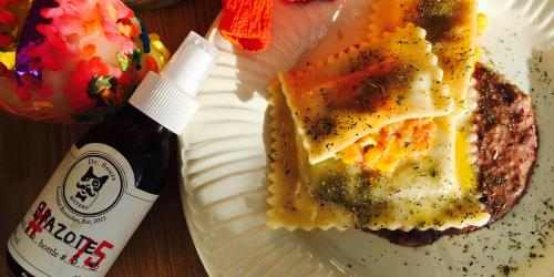 A picture of Dr. Sours Food: Maultaschen