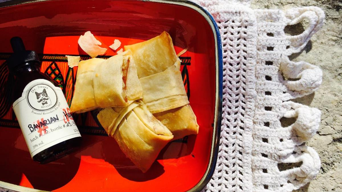A picture of Dr. Sours Food: Membrillo Tamal