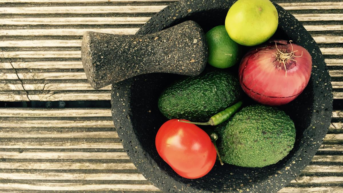 A picture of Dr. Sours Food: Sol's Guacamole